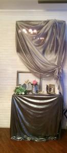 Серебряная свадьба фотозона.